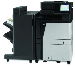 HP Color LaserJet Enterprise Flow M880z - A2W75A + mit Finisher +